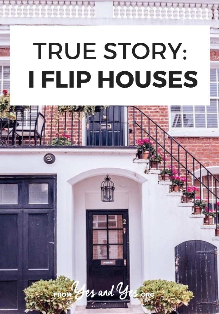 Have you ever wanted to flip a house? If you watch those house flipping shows and drool, you'll want to click through for this interview full of design tips and real estate advice from a house flipper!