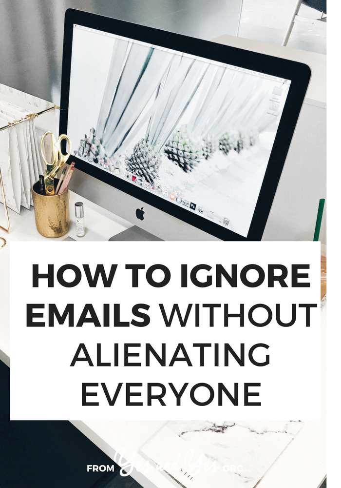 Wouldn't it be awesome if you could ignore email without ruining your career? You can - if you use a polite, professional autoresponder! Click through for 4 autoresponder email examples from your favorite bloggers and writers!