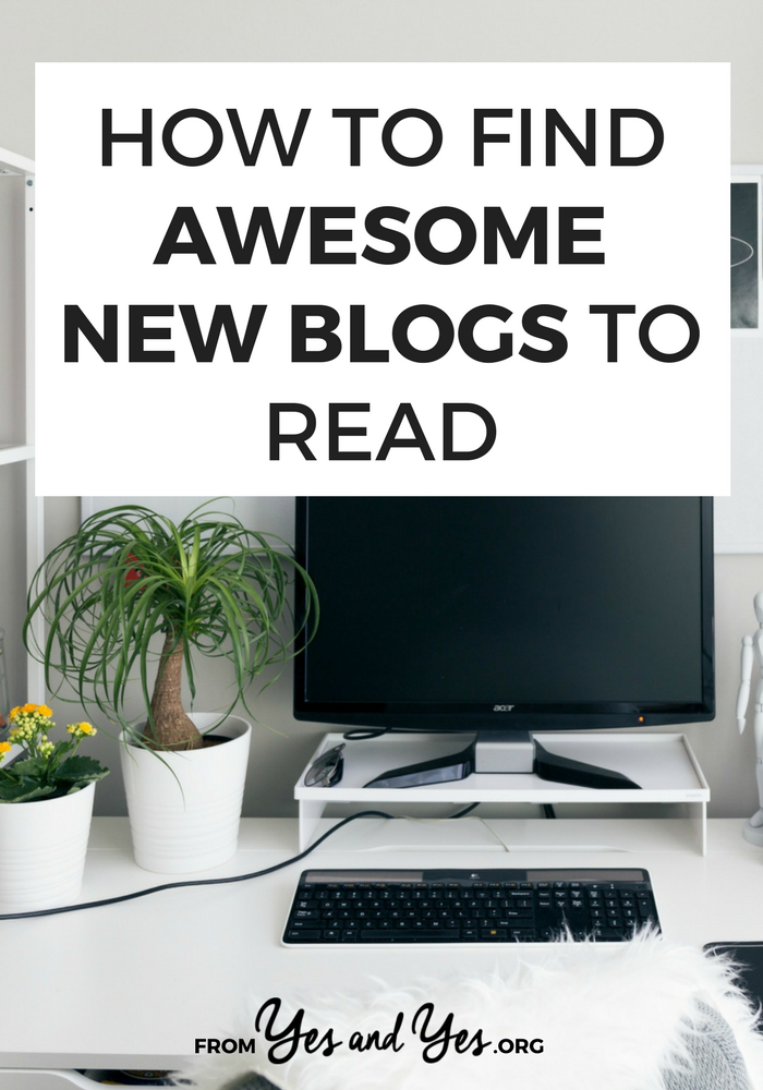 Want to find new blogs? Sick of reading the same old same old? Just looking for inspiration? Click through to find out how to discover awesome new blogs!