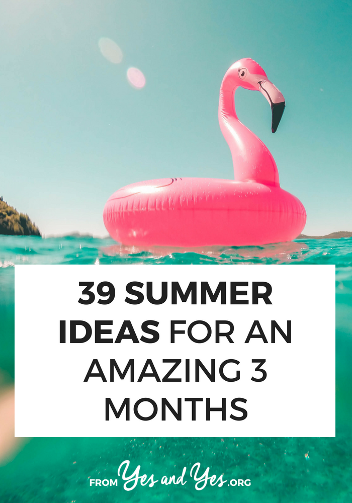 Looking for summer ideas that will make these three months amazing? You're in the right place! Click through for fun ideas for parties, day trips, and summer activities that are super fun!