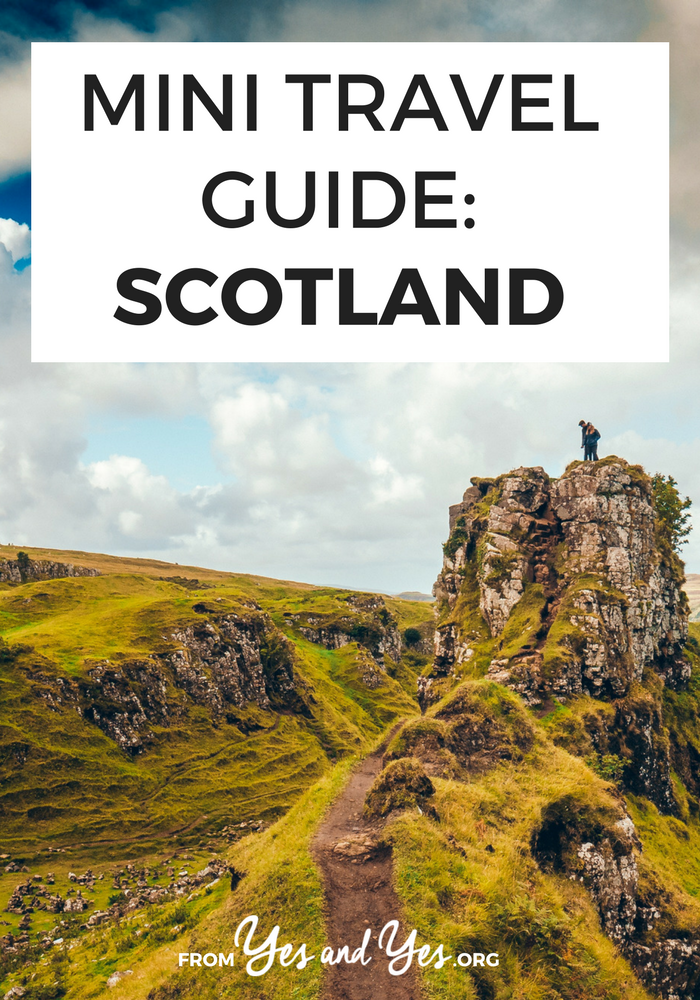 Looking for a travel guide to Scotland? Click through for from-a-local Scottish travel tips on what to do, where to go, what to eat, and how to do it all cheaply!