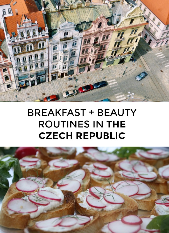 Wondering which Czech beauty products women swear by? Whats the best Czech breakfast? Click through for Czech beauty tips from a local!