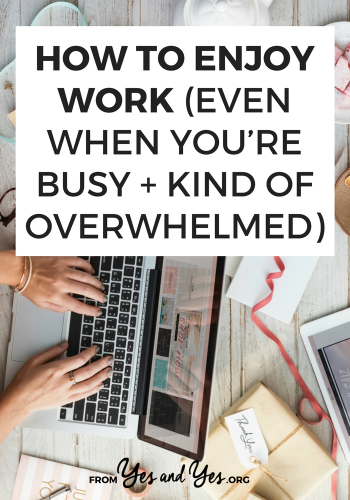 Are you super busy? Overworked? Looking for time management tips? Click through for productivity tips and self-care advice for when work gets crazy!