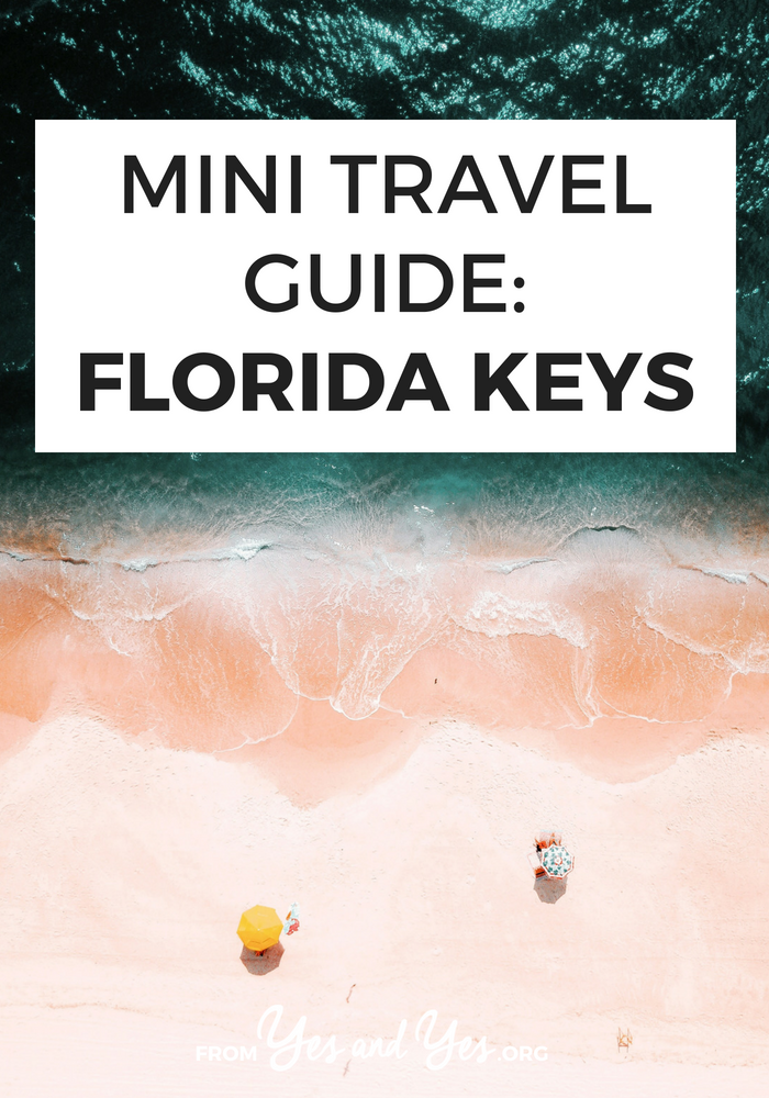 Looking for a travel guide to the Florida Keys? Click through for Florida Keys travel tips from a local - where to go, what to do, and how to travel the Keys safely, cheaply, and respectfully!