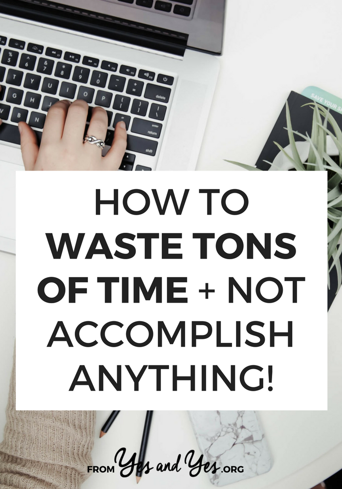 Want to be more productive in your business? Or just stop wasting time! If you stop doing these things you'll be so much more effective! Productivity tips ahoy!