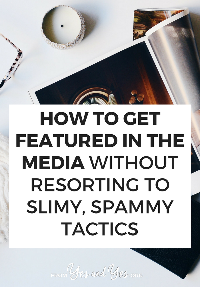 Want to get featured in the media? We all do! Click through for PR tips from a long-time pro and marketing tips that will help anyone!