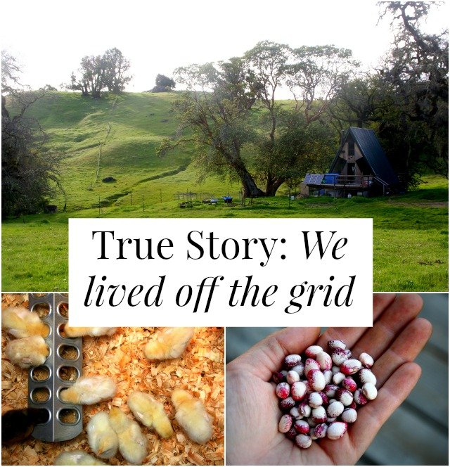 lived off the grid
