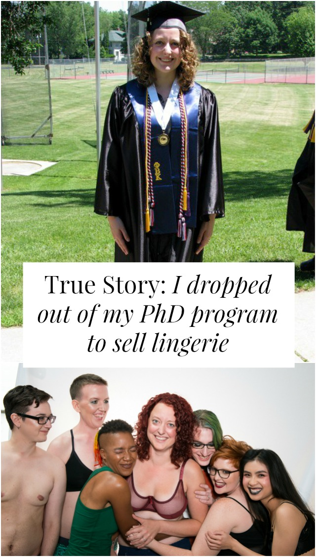 dropped out of PhD