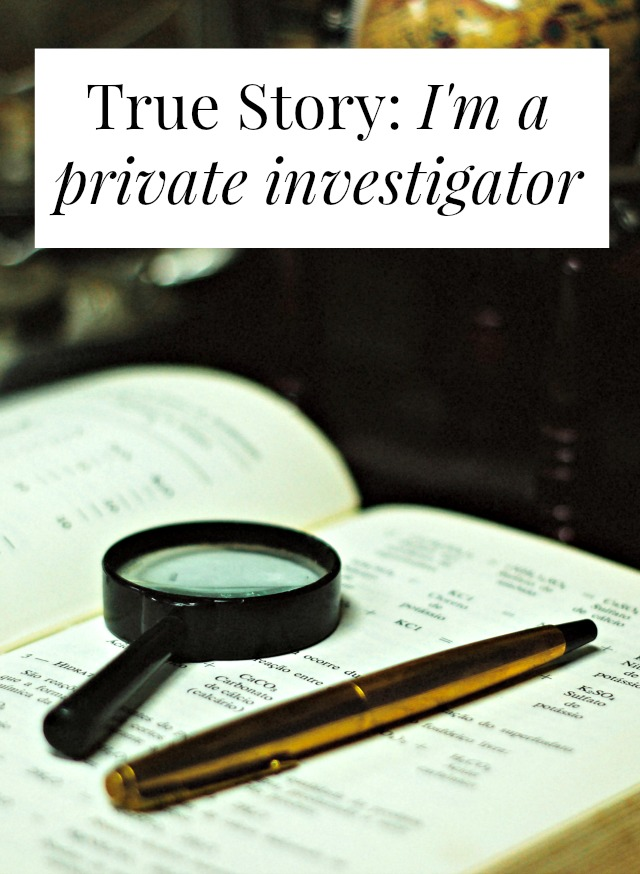 interview with a private investigator