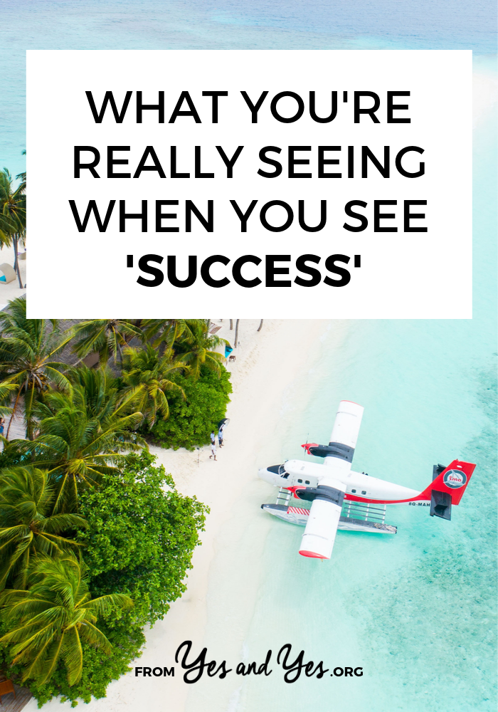 Do you ever feel jealous when you see someone else being successful? Wonder what the secret to success is? If you fall down the comparison hole, click through to read this post. #success #secrettosuccess #envy #jealousy