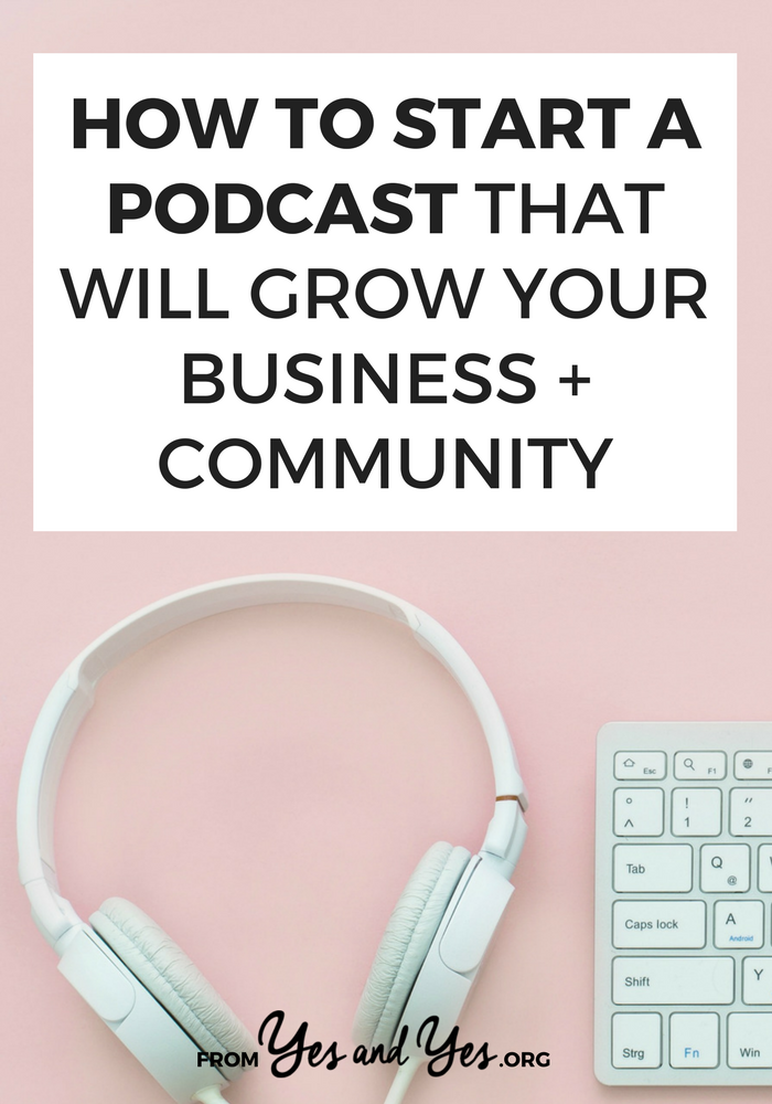 Wondering how to start a podcast? Want to create a podcast that leads to more business and sales? Click through for tips from a great podcaster!