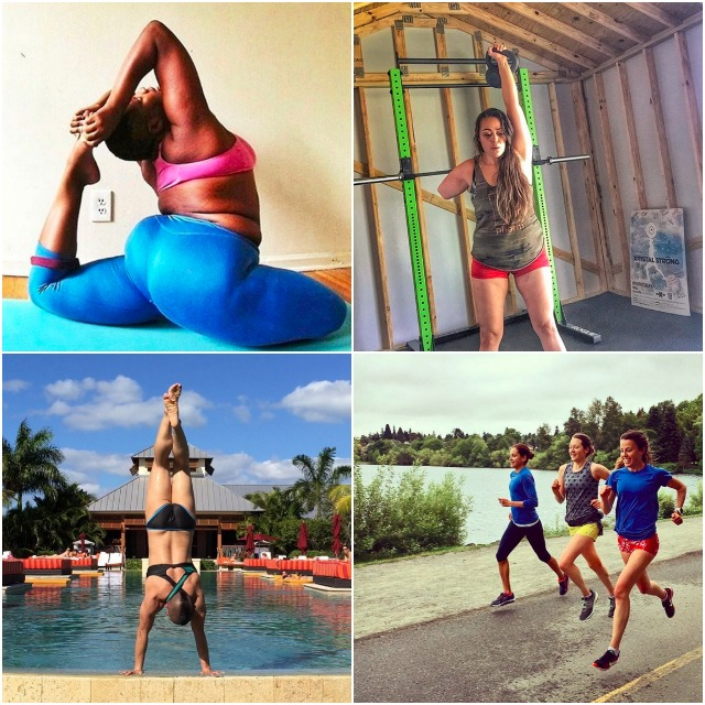 fitness instagram accounts