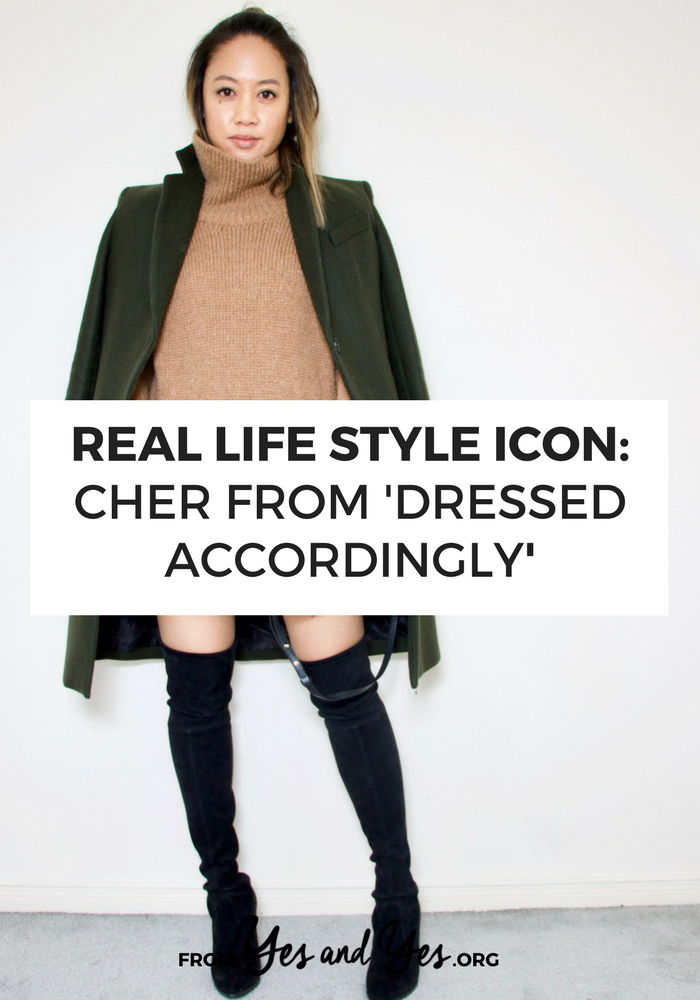Style and beauty tips from fashion blogger Cher - like which $7 skin products she swears by and how she chooses clothing that works for 'real life' and her office life as an attorney! >> yesandyes.org