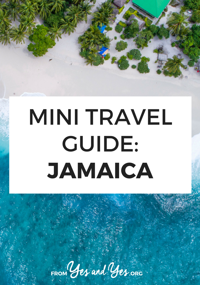 Looking for a travel guide to Jamaica? Click through for Jamaican travel tips from a local - what to do, where to go, what to eat, and how to travel Jamaica on a budget!