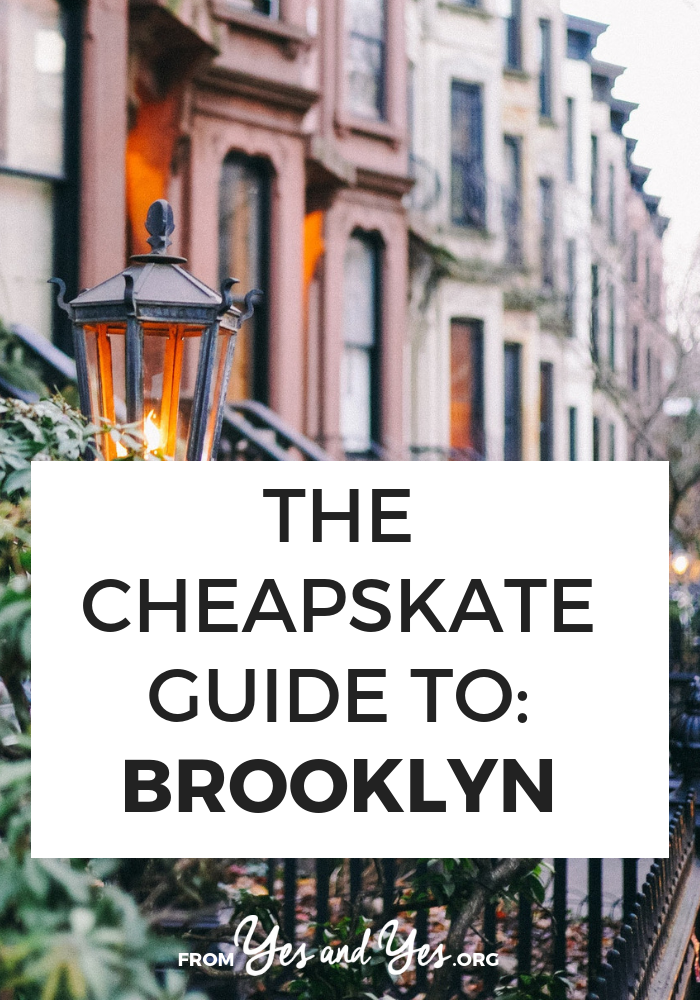 Want to travel cheap in Brooklyn? Click through for a locals tips on $40 Airbnbs, cheapo Polish food, and FREE performances from a six-time Grammy-winning choir! >> yesandyes.org