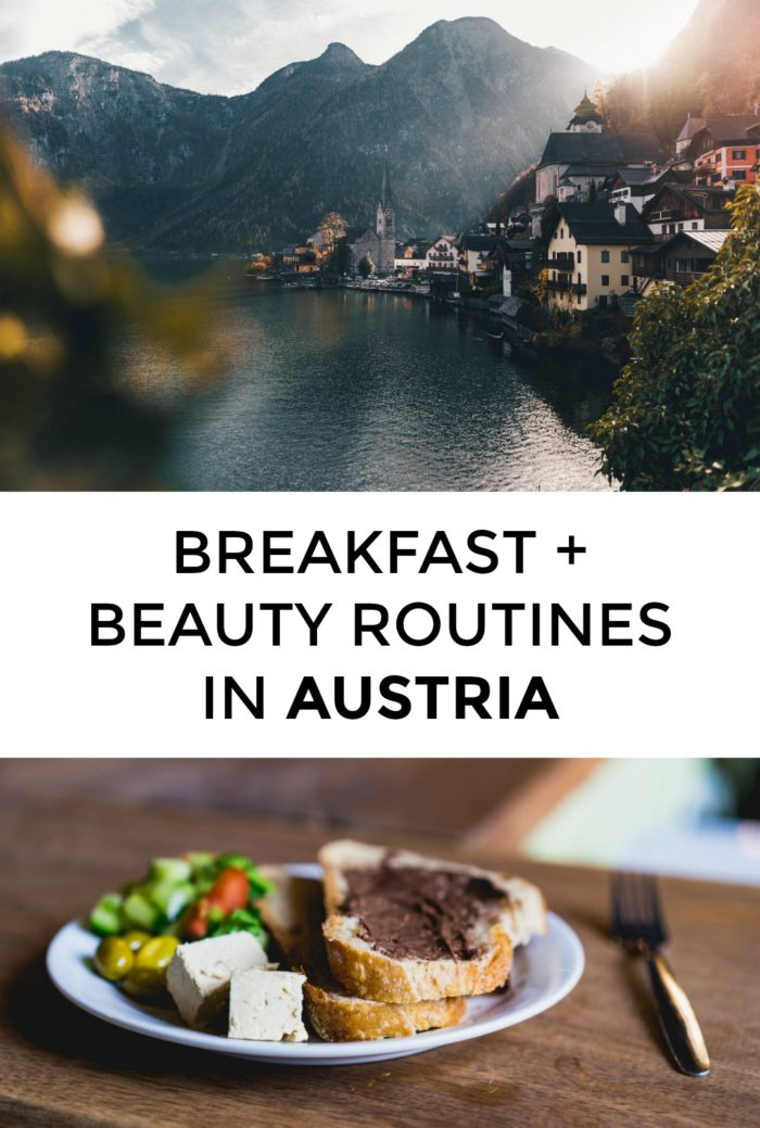 Curious about Austrian beauty products or Austrian breakfasts? Click through for insights into one Austrian woman's morning routine!