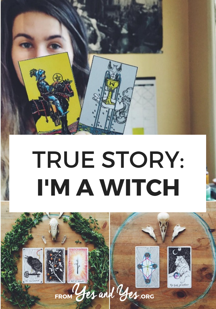 Have you ever wondered about witchcraft? How witches are different from Wiccans? Click through for a FASCINATING interview with a Britton, a 31-year-old witch who really, actually casts spells using herbs, bones, candles, and crystals. >> yesandyes.org