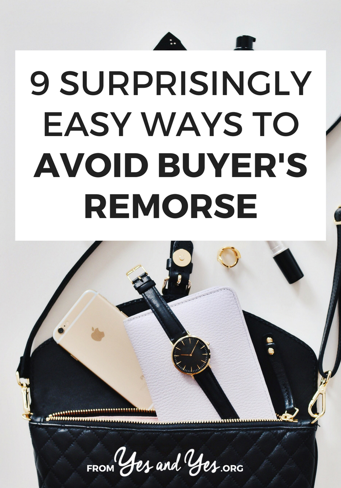 "Do you ever have buyer's remorse? We all do! One of the best budgeting tips is ""buy fewer things you don't need"" Click through to find out how!"