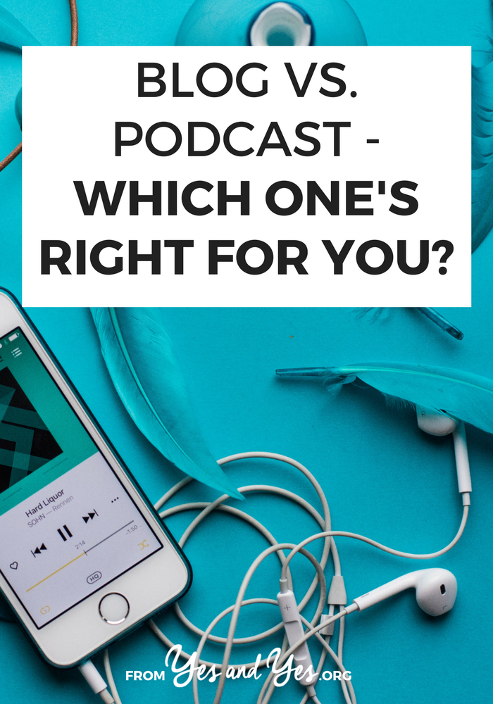 Where do you stand on the blog vs podcast argument? Is blogging dead? How do you SEO or monetize a podcast? Kathleen made the switch + weighs in!