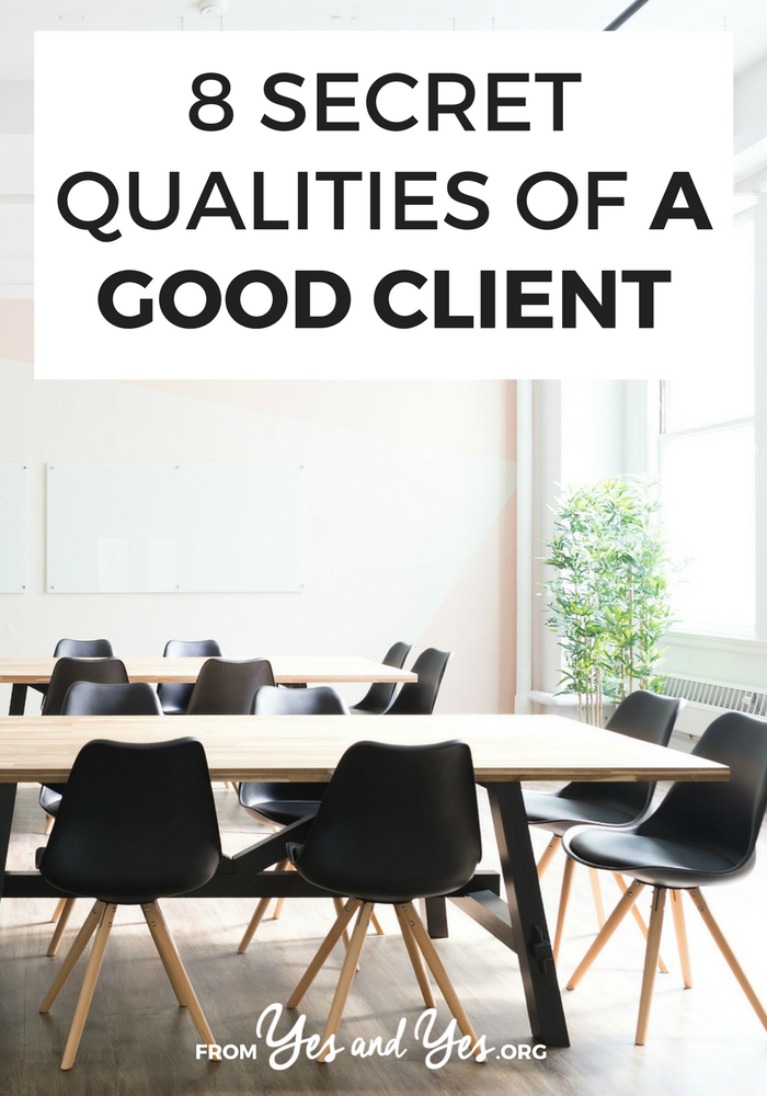 When you're a good client, your contractors are happier and your business does better. Not sure how to be a good client? Click through for 8 tips!