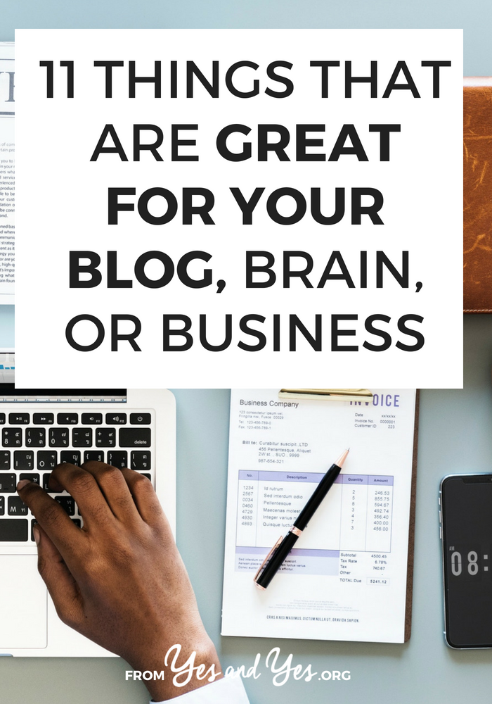 Blogging tips, social media advice, and business tips - all in one place! Click through for a great roundup of resources!