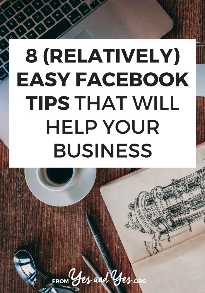 Looking for easy Facebook tips? You're in the right place! These effective Facebook tips are beginner-friendly, not overwhelming, and doable even if you're not super tech savvy! Click through and improve your Facebook page!