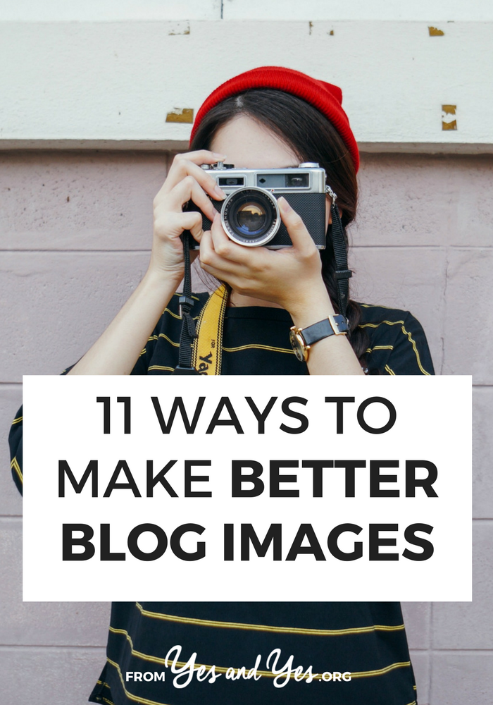 Want to make better blog images? Make your content perform better on Pinterest? You don't need graphic design software - just use these blog-improving tips!