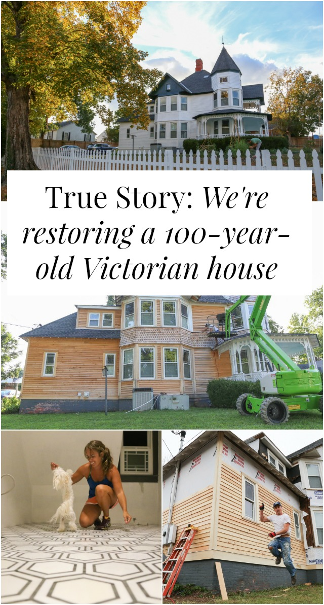 True Story We Re Restoring A 100 Year Old Victorian House