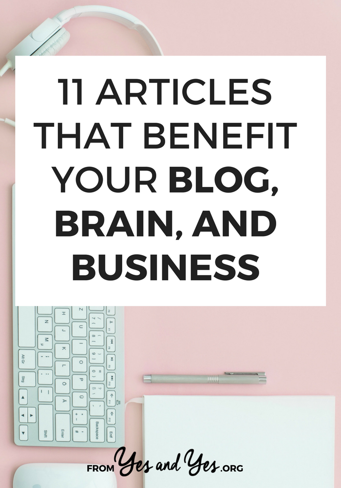 A roundup on blogging links, blogging resources, and social media tips! Click through for an hour of helpful reading!