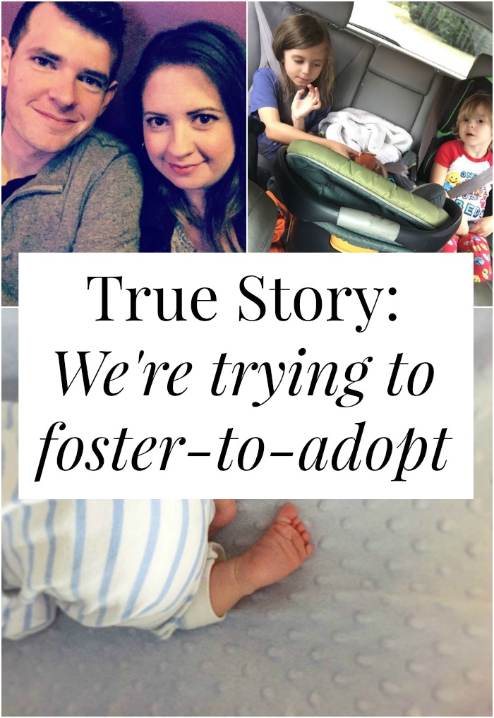 What's it like to foster-to-adopt? How is it different from international adoption? Easier? Harder? Click through for one family's story
