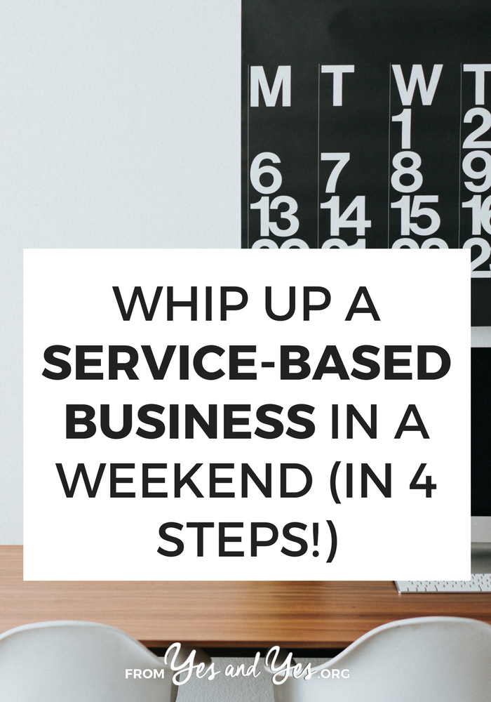 Looking for service based business ideas? Start here! You don't need fancy branding or an expensive website. This basic, incredibly helpful small business advice is great from bloggers and entrepreneurs!