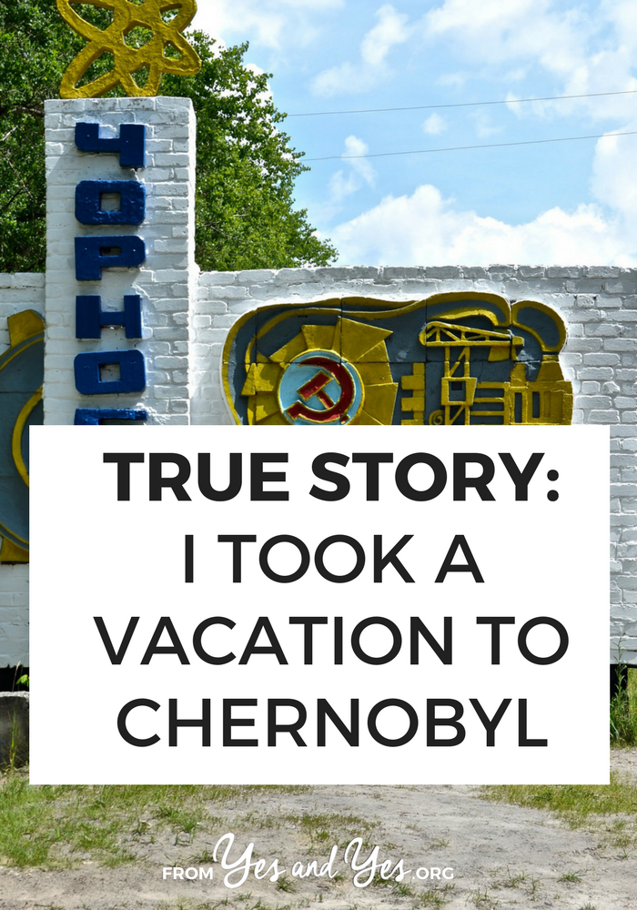 Would you ever want to travel to Chernobyl - the site of a nuclear disaster? As crazy as it sounds, Chernobyl tourism exists! Click through if you're interested in visiting!