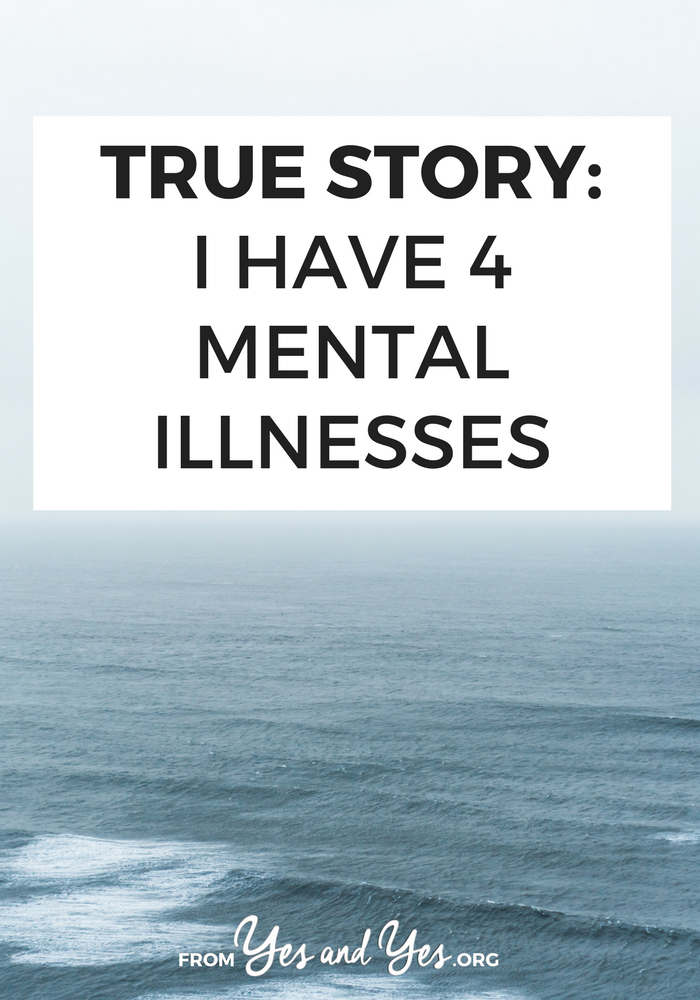 What's it like to live with multiple mental illnesses? Can you thrive and success when you struggle with mental health, anxiety, depression? Yes. Click through for one young woman's story and tools she's used to treat her mental health issues.