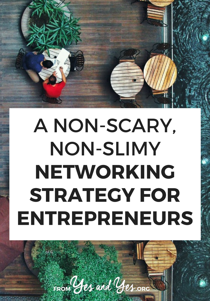 Networking for entrepreneurs aren't quite as easy or straight forward as networking for 9-to-5-ers, is it? No worries - this strategy has you covered! Click through to find out how you can expand your network by 140 people (!!!) this year!