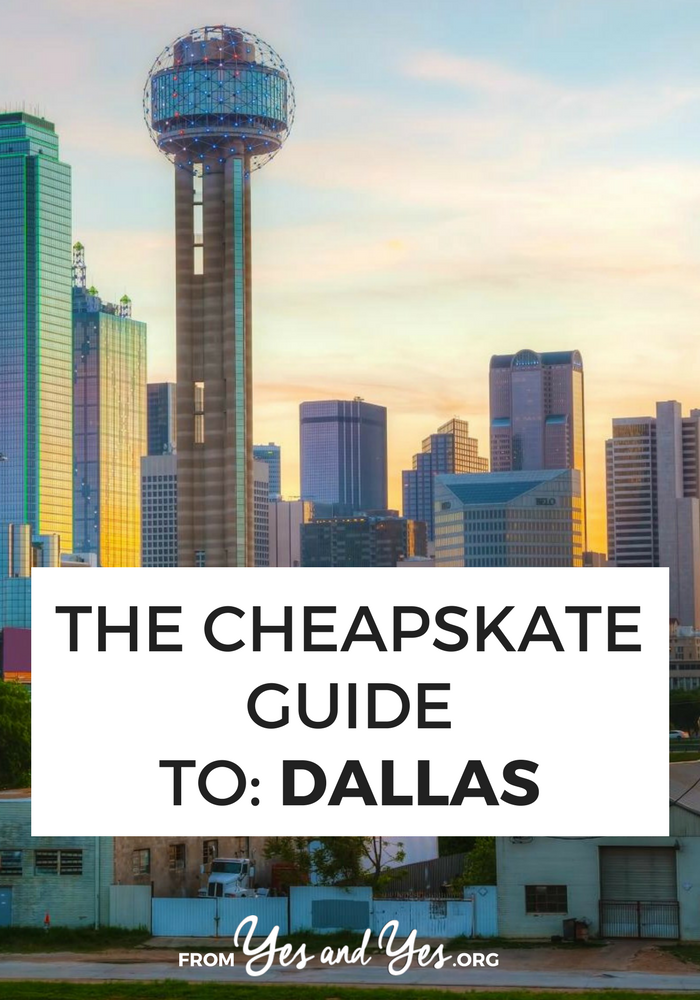 Looking for cheap Dallas travel tips? You're in the right place! Click through for cheap lodging, cheap food, and cheap things to do!