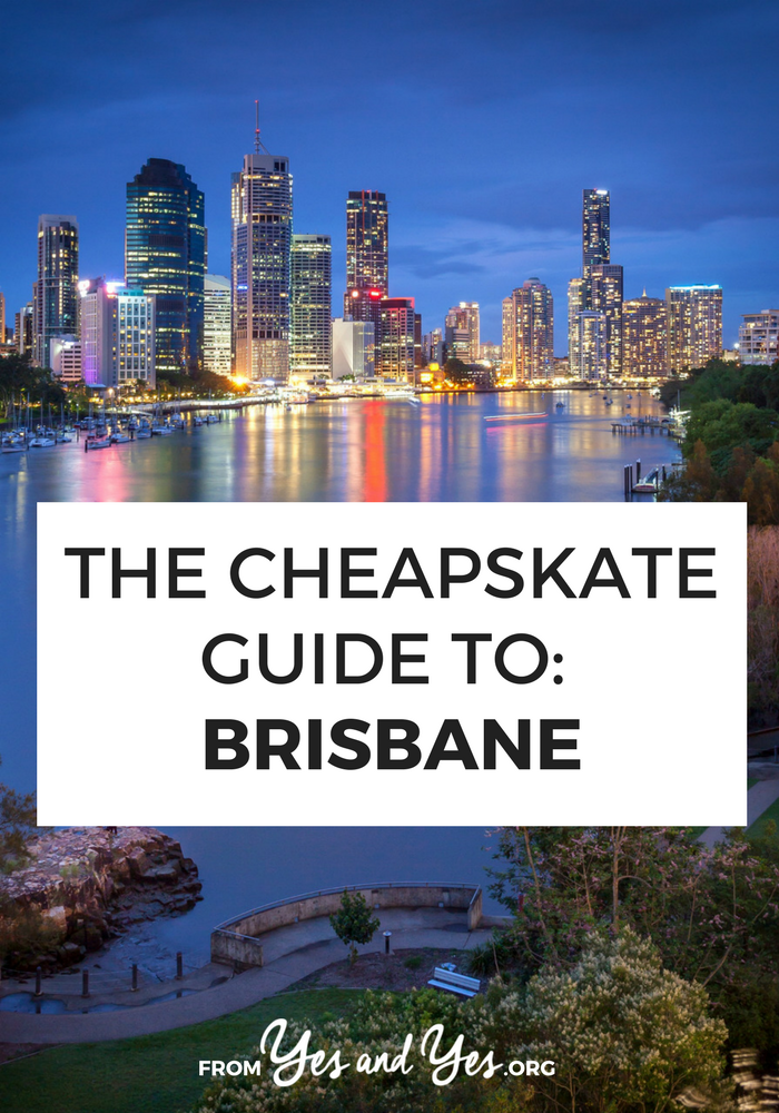 Want to do Brisbane cheap? Click through for from-a-local cheap travel tips on where to go, what to do, and cheap food around Brisbane!