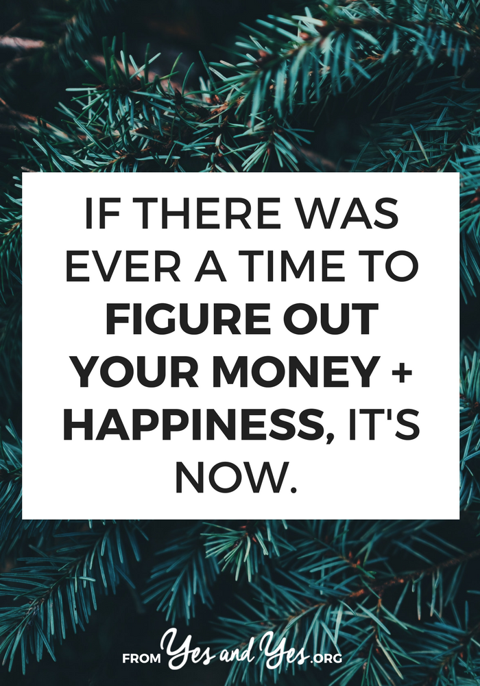 Want to figure out money and happiness in time for the holidays? Click through for tips that will help!