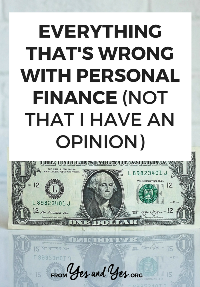 What's wrong with personal finance? If you're looking for money advice, budgeting tips, or financial advice, this post will help and you're probably never heard THESE personal finance tips before!