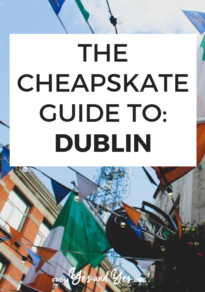 Looking to sneak in a cheap trip to Dublin? Click through for from-a-local cheap Dublin travel tips on where to stay, what to do, and what to eat on a budget!