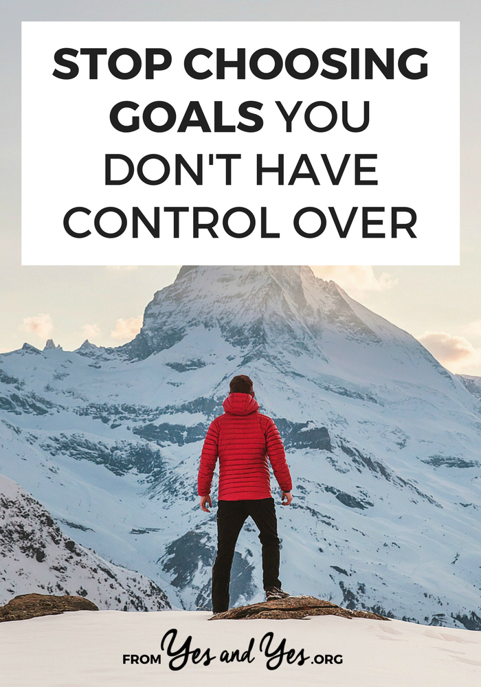 Looking for goal setting tips? Want to keep your resolutions for this year? Then make sure you're not make this goal setting mistake. Click through to find out if you are!