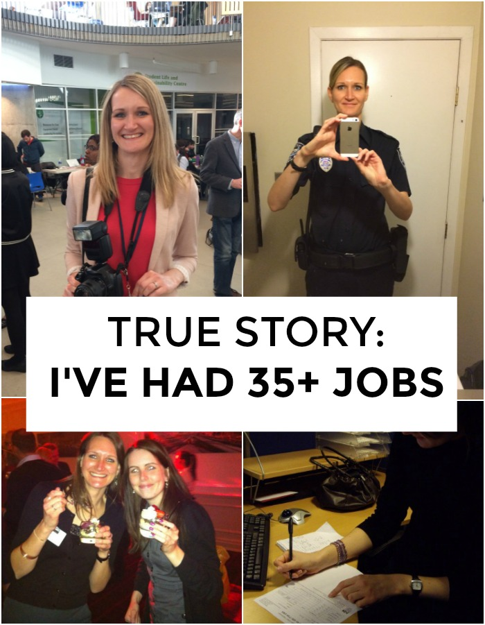 Have you had lots of jobs? If you have, you're not alone. Click through for career tips and work advice from someone who finally found a career she loves after trying 35+ jobs!