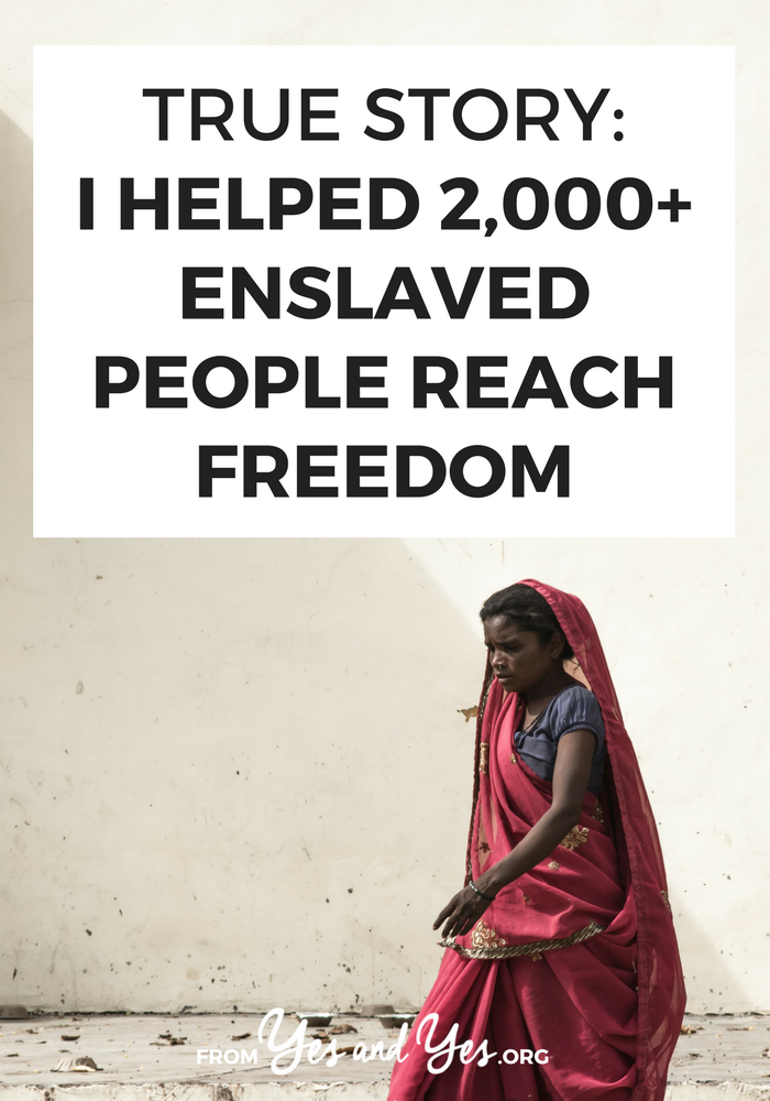 Slavery still exists in 2018 and one woman is working to end it. Click through for one woman's story of helping 2,000+ people in northern India escape enslavement