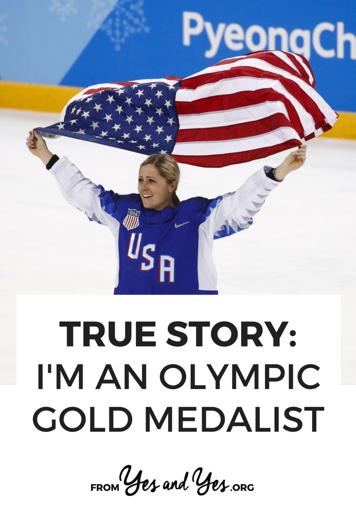 "What would it be like to win a gold medal? Or three gold medals? What if you won one of those gold medals in overtime in a match sports commentators called ""One of the greatest things I've ever seen""? Click through for Gigi Marvin's story."