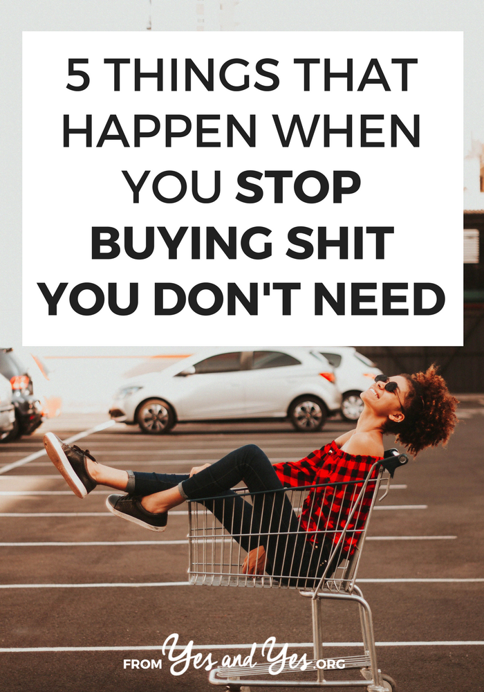 Want to stop buying shit you don't need? Struggling to stick to a budget? Looking for budget tips that don't make you feel deprived? This post will help you stick to your budget. Promise!