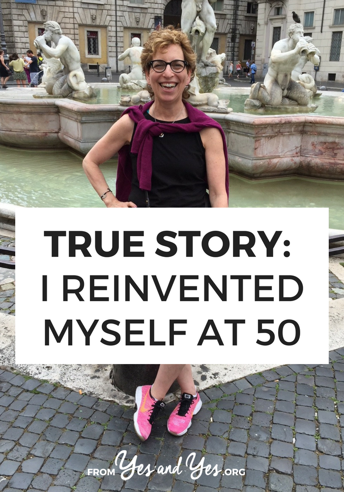 What does midlife reinvention look like? How do you re-imagine your life when your kids move out and your spouse dies in the same year? Click through one woman's incredibly inspiring story of changing your life at midlife!