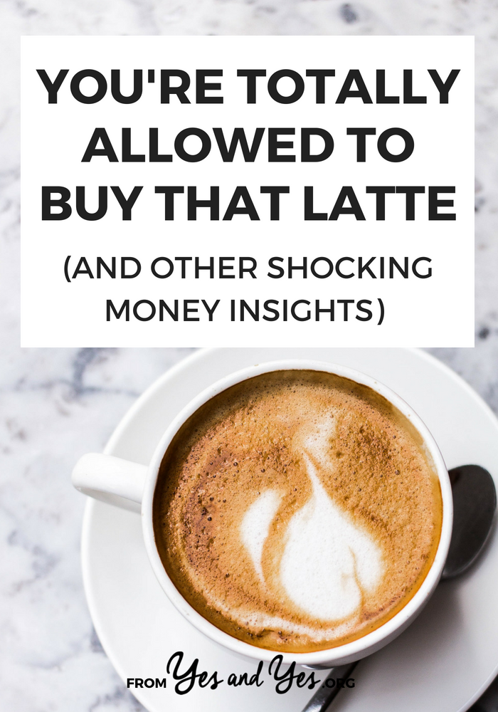 Is that latte personal finance advice air tight? If you're looking for budgeting tips or money advice, tap through for some you've never heard before (but totally works!) #moneytips #FIRE #personalfinace #budgeting #frugal