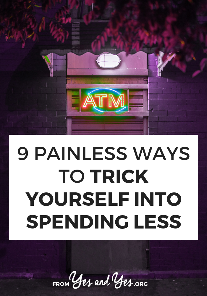 Want some tricks to spending less? Looking for budget tips that don't suck the joy from your life or easy money advice. Tap through for tricks to spending less in a way that doesn't suck! #budgeting #money #personalfinance #moneytips