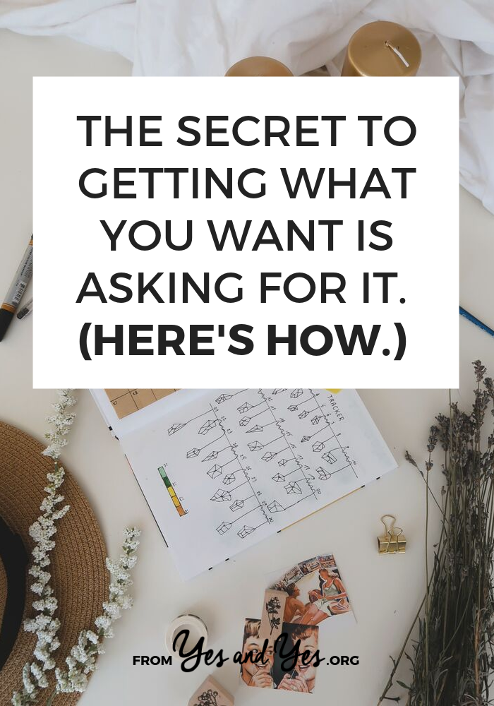 Not sure how to ask for what you want? Looking for goal-setting advice or tips for chasing your dreams? Click through for self-development tips you won't read elsewhere! #goalsetting #motivation #productivity #getwhatyouwant