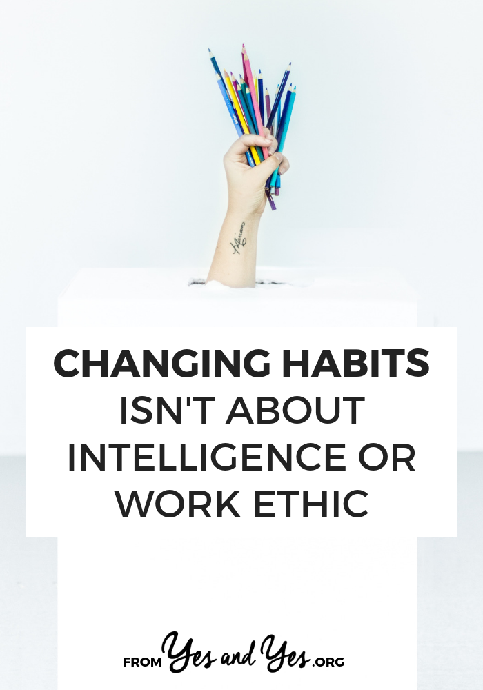 Trying to break a bad habit or build a good habit? Click through to read 4 myths about habit change and improve your goal-setting or increase your motivation! #habits #goodhabits #badhabits